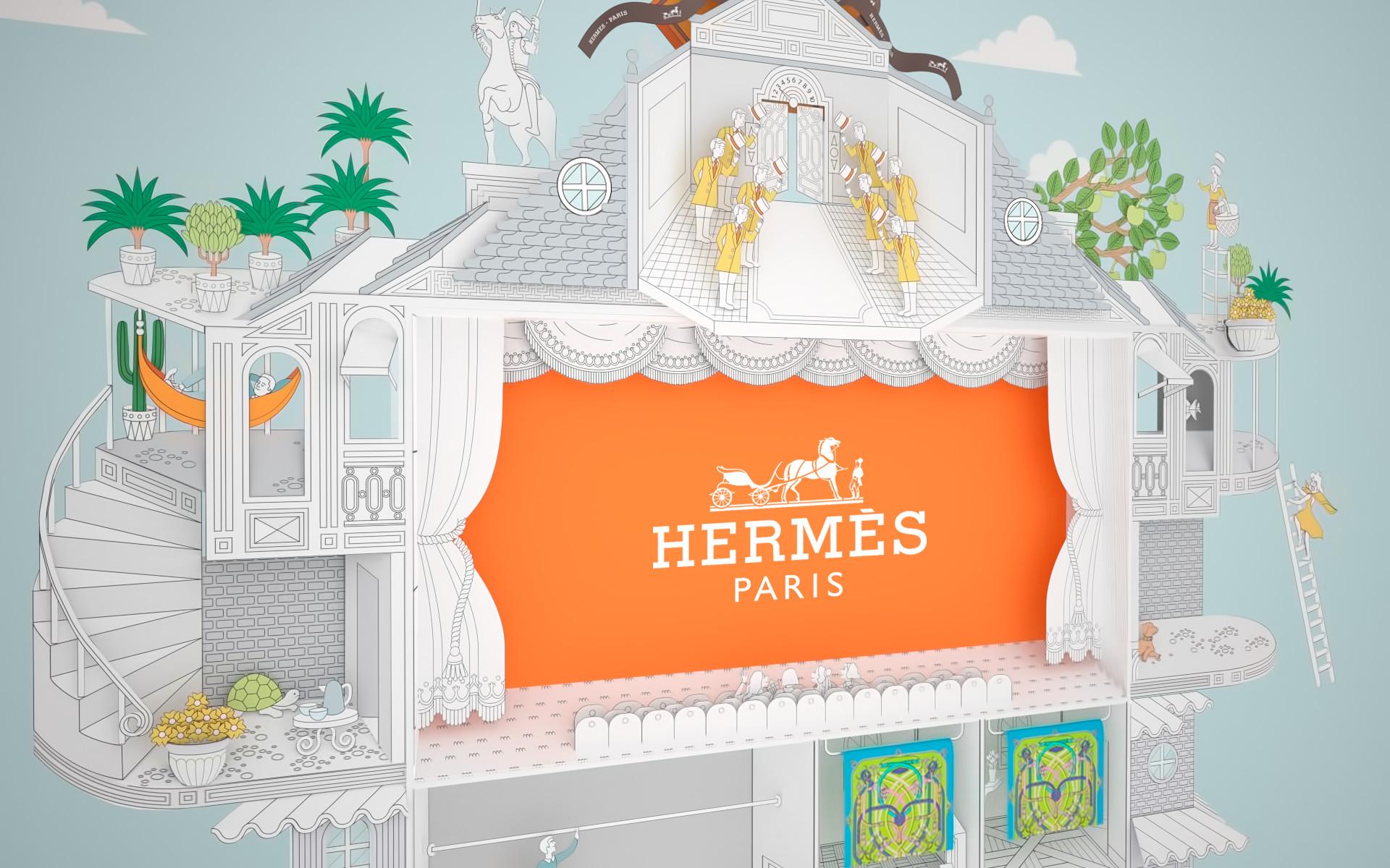 46b76ca99d6 Maison de Carrés Hermes